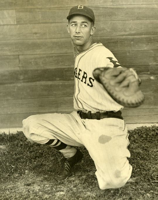 Clyde Sukeforth was traded to the Brooklyn Dodgers in 1932 to serve as a backup catcher for future Hall of Famer Al López. (National Baseball Hall of Fame and Museum)