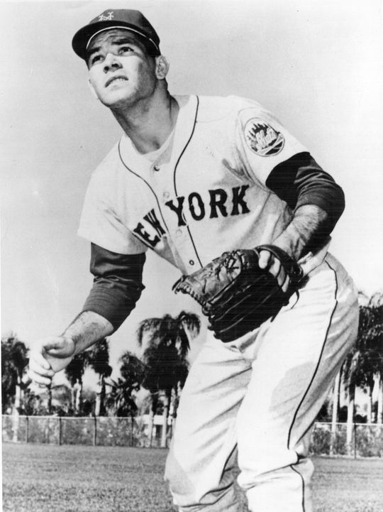 Swoboda debuted in the major leagues in 1965 with the New York Mets, leading the club in home runs with 19 and setting a new club record for home runs by a rookie. (National Baseball Hall of Fame)