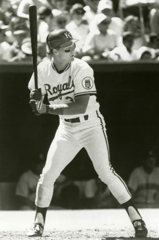 Pat Tabler batted .282 during his big league career, totaling 1,101 hits. (National Baseball Hall of Fame and Museum)