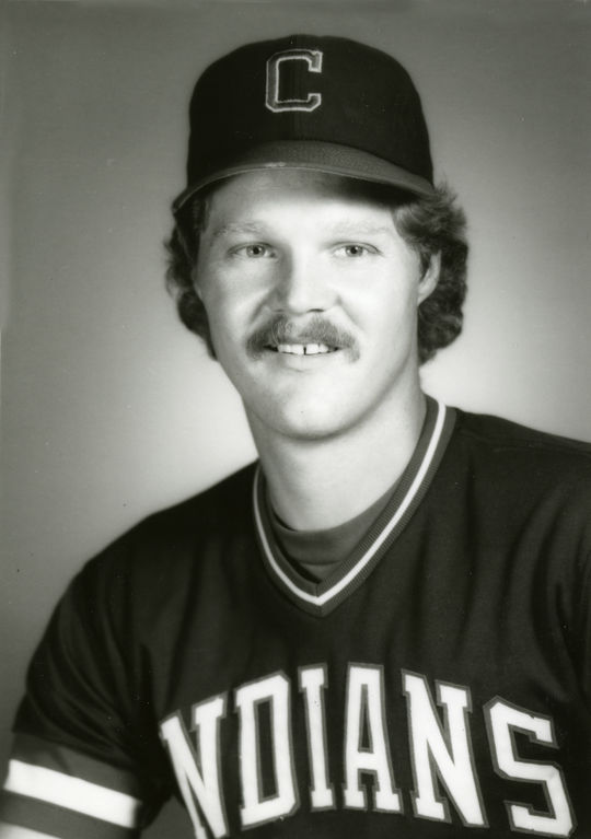 Over six seasons with the Indians, Pat Tabler hit .294 and earned a reputation as one of baseball's best clutch hitters. (National Baseball Hall of Fame and Museum)