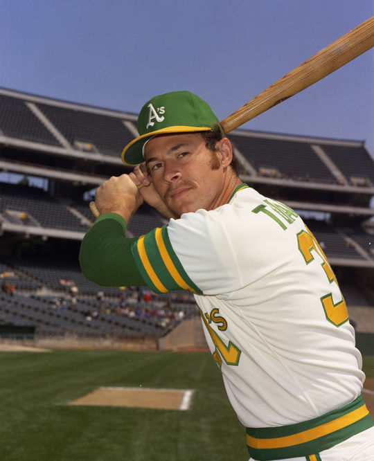 The A's converted Gene Tenace to catcher and then moved him to first base. (Doug McWilliams/National Baseball Hall of Fame and Museum)