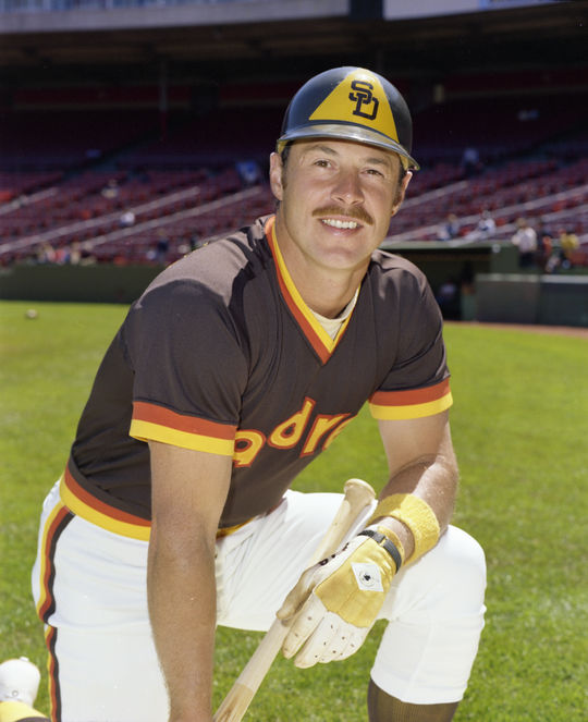 Gene Tenace signed with the Padres as a free agent following the 1976 season. (Doug McWilliams/National Baseball Hall of Fame and Museum)