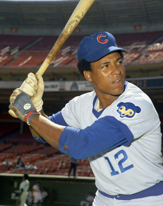 Andre Thornton had a successful stint with the Cubs, including a 1975 season when he recorded a .944 OPS. (Doug McWilliams/National Baseball Hall of Fame and Museum)