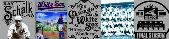 Tickets for games for the 2017 Chicago White Sox featured images from throughout the club's history. (National Baseball Hall of Fame and Museum)