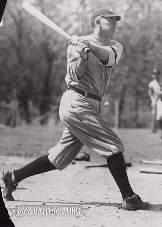 Ty Cobb was elected to the first class of the National Baseball Hall of Fame in 1936. (National Baseball Hall of Fame and Museum)