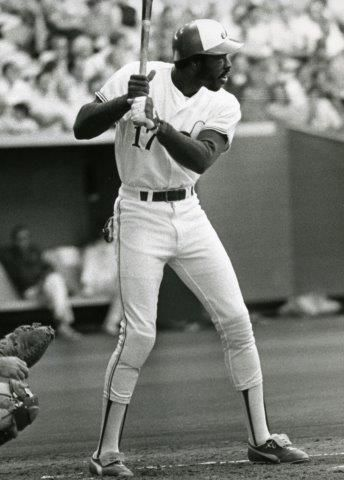 Ellis Valentine was part of a star-studded Expos outfield of the late 1970s that also featured Andre Dawson and Warren Cromartie. (National Baseball Hall of Fame and Museum)