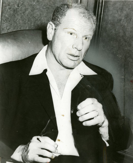 Bill Veeck owned the Indians, Browns and White Sox during his career in the big leagues, using unconventional promotions to bring fans to the ballpark. (National Baseball Hall of Fame and Museum)