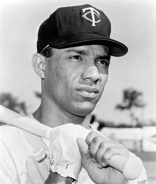 Cuban-born Zoilo Versalles, who won the American League MVP Award in 1965, said his first baseball glove was given to him by Carlos Paula, his step-father's brother.  Versalles-Zoilo-4099.71c_HS_NBL  (National Baseball Hall of Fame)
