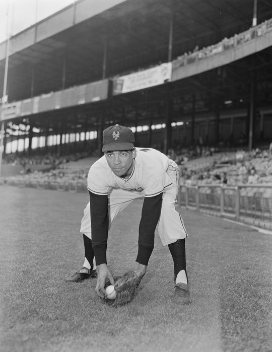 Ozzie Virgil began his career with the New York Giants in 1956 at the age of 24. (Osvaldo Salas/National Baseball Hall of Fame and Museum)
