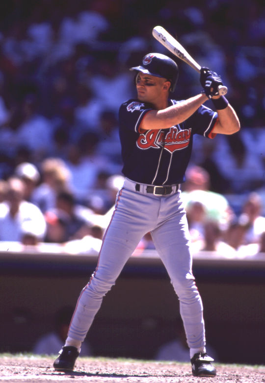 Omar Vizquel played for the Cleveland Indians while Sheldon Ocker covered the team for the <em>Akron Beacon Journal</em>. (Rich Pilling/National Baseball Hall of Fame and Museum)