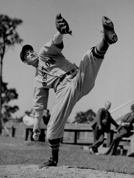 Charlie Wagner pitched for the Red Sox for six seasons in the 1930s and 40s before moving into the front office and eventually working as a scout. (National Baseball Hall of Fame and Museum)