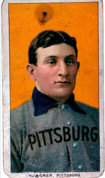 The Hall of Fame has two T206 Honus Wagner cards (pictured above) in its collection. (National Baseball Hall of Fame and Museum)