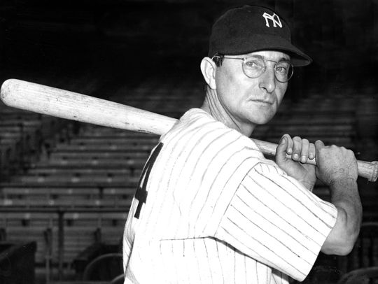 On June 12, 1942, Paul Waner became the seventh player in baseball history to record 3,000 hits. (National Baseball Hall of Fame and Museum)