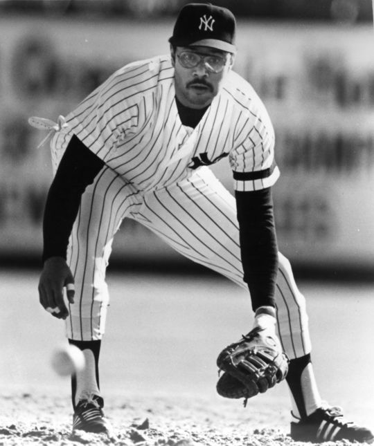 Bob Watson played for the Yankees from 1980-82 and was later their general manager. As GM, Watson brought Tim Raines to New York in a trade with the White Sox on Dec. 28, 1995. (National Baseball Hall of Fame and Museum)