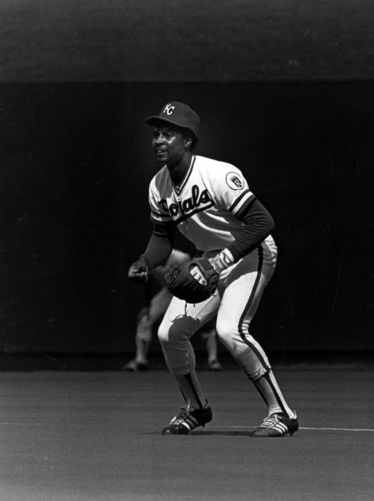 Toward the end of his career, Cookie Rojas offered Royals' second baseman Frank White the benefit of his decade and a half worth of experience in the major leagues. (National Baseball Hall of Fame and Museum)