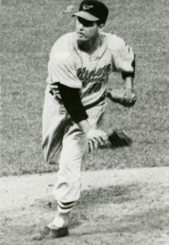 Marveled for his longevity, Hoyt Wilhelm didn't make his major league debut until he was 29 years old, and he pitched until he was nearly 50. (National Baseball Hall of Fame and Museum)