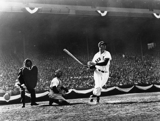 """In a June 7, 1941 interview with <em> The Boston Globe</em>, Williams would say """"""""it''s a dream I've always had – the way I'm hitting now."""" (National Baseball Hall of Fame)"""