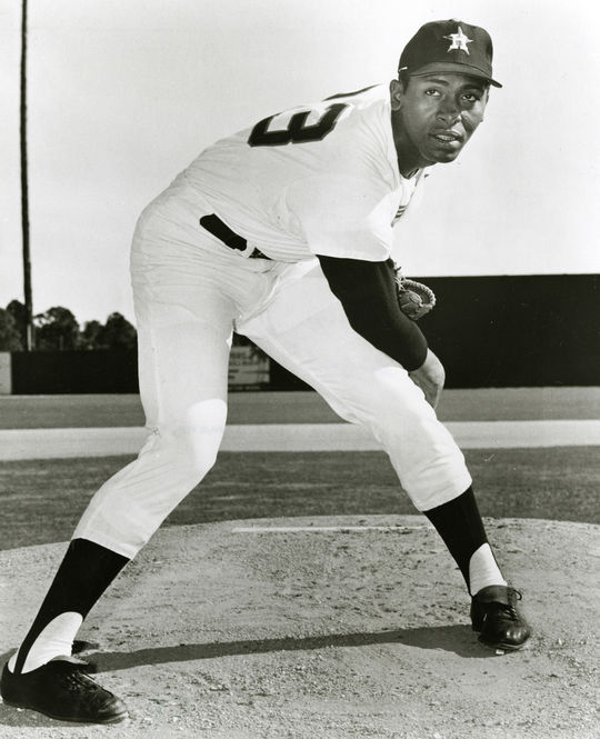 Pitcher Don Wilson joined the Houston Astros in 1966 and would remain with the team for nine seasons. (National Baseball Hall of Fame and Museum)