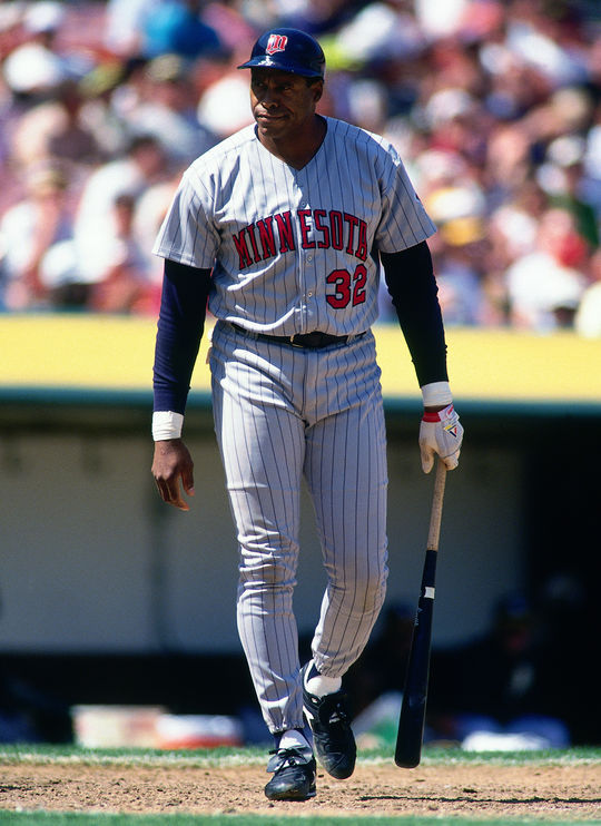 Dave Winfield played for six teams in his 22-year career, including two seasons for his hometown Minnesota Twins in 1993-94. (Brad Mangin/National Baseball Hall of Fame and Museum)