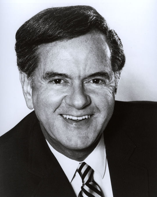 Bob Wolff, known for his his versatility, broadcast championship series in all four major U.S. sports – the World Series, the NBA and NFL championships, and the Stanley Cup finals. (National Baseball Hall of Fame and Museum)