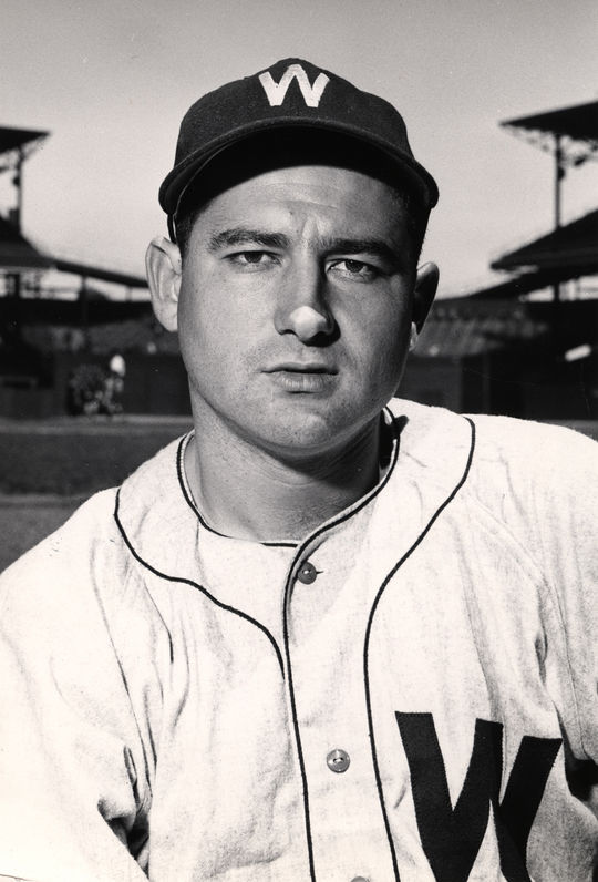Early Wynn debuted with the Washington Senators in 1939, playing with them for eight years. (National Baseball Hall of Fame)