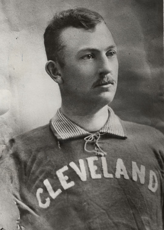 Head shot of Cy Young in uniform. BL-1551.68WTAJ