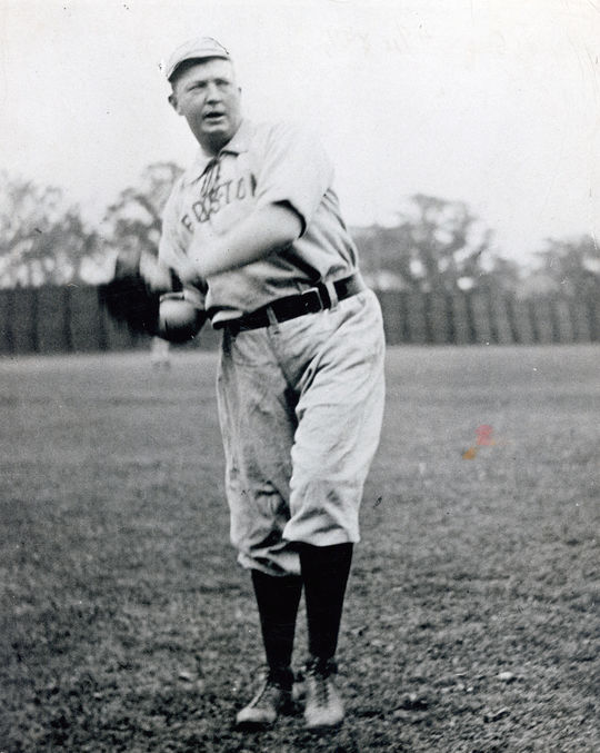 Cy Young spent 9 years of his 22-year-career in Boston. (National Baseball Hall of Fame and Museum)