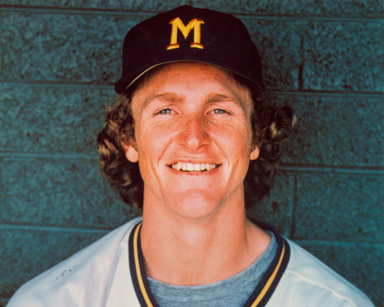 Robin Yount signed with the Milwaukee Brewers the day after his final American Legion game in Woodland Hills, Calif. BL-3259-98 (National Baseball Hall of Fame Library)