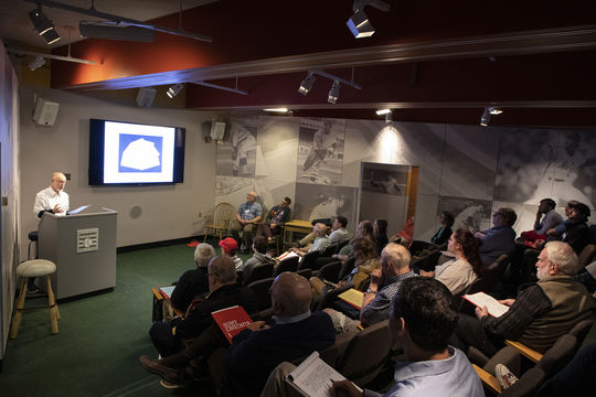 The 2019 Cooperstown Symposium on Baseball and American Culture, held May 29-31, attracted 170 fans and scholars to the Hall of Fame. (Milo Stewart Jr./National Baseball Hall of Fame and Museum)