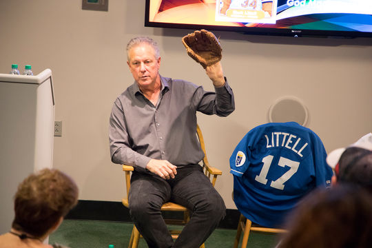 "Mark Littell wrote the book ""On the Eighth Day, God Made Baseball"", which was published in 2016. (Milo Stewart Jr./National Baseball Hall of Fame and Museum)"