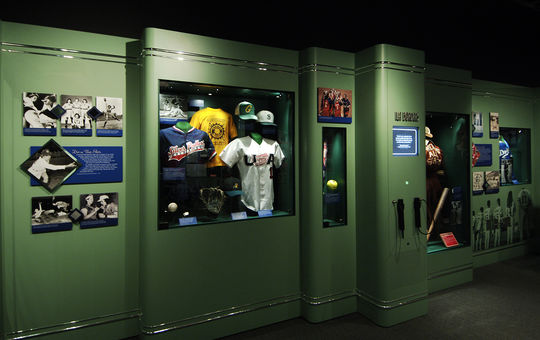 The recent donations from the Sonoma Stompers will be displayed in the Museum's <em>Diamond Dreams</em> exhibit. (Milo Stewart Jr. / National Baseball Hall of Fame)
