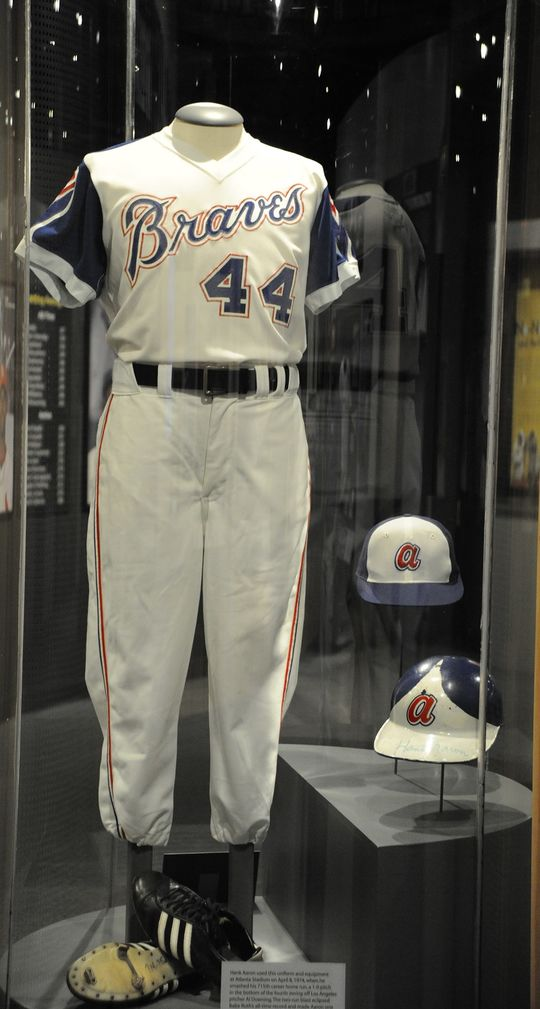 Hank Aaron: Chasing the Dream Exhibit (Milo Stewart Jr./National Baseball Hall of Fame)