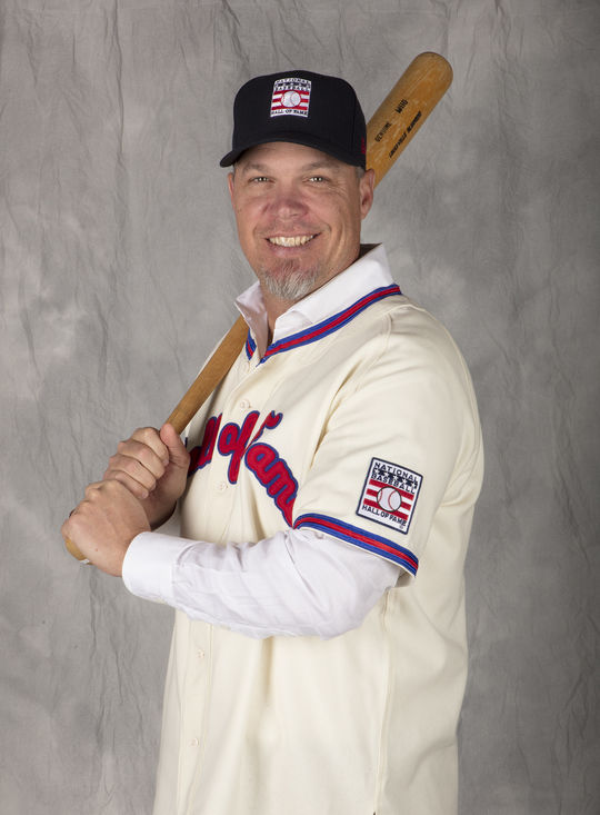 Chipper Jones was elected to the Hall of Fame on Jan. 24, 2018 by the BBWAA. (Milo Stewart Jr./National Baseball Hall of Fame and Museum)