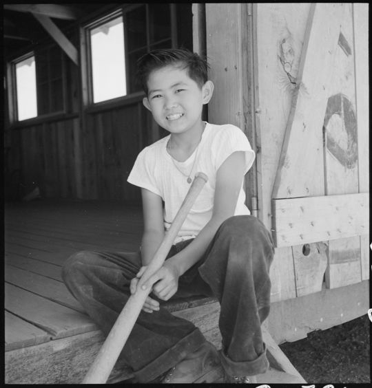 Kenichi Zenimura's baseball league included players of all ages and skill levels, from young boys to seasoned veterans. (Dorothea Lange / Courtesy of the National Archives and Records Administration)