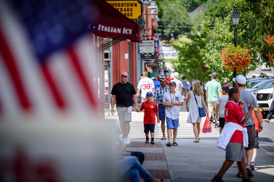 There's plenty to see and do in downtown Cooperstown. (Mitch Wojnarowicz/National Baseball Hall of Fame and Museum)