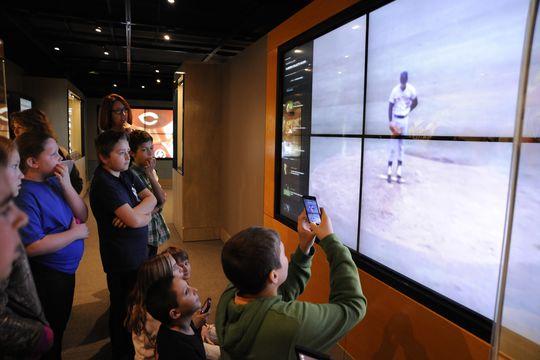 Exploring our Whole New Ballgame Exhibit
