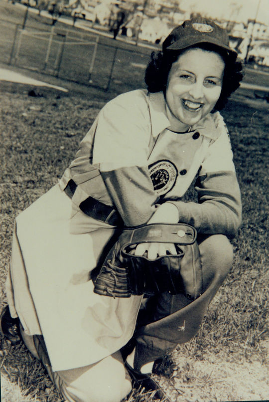 Dottie Collins - BL-5876-99 (National Baseball Hall of Fame Library)