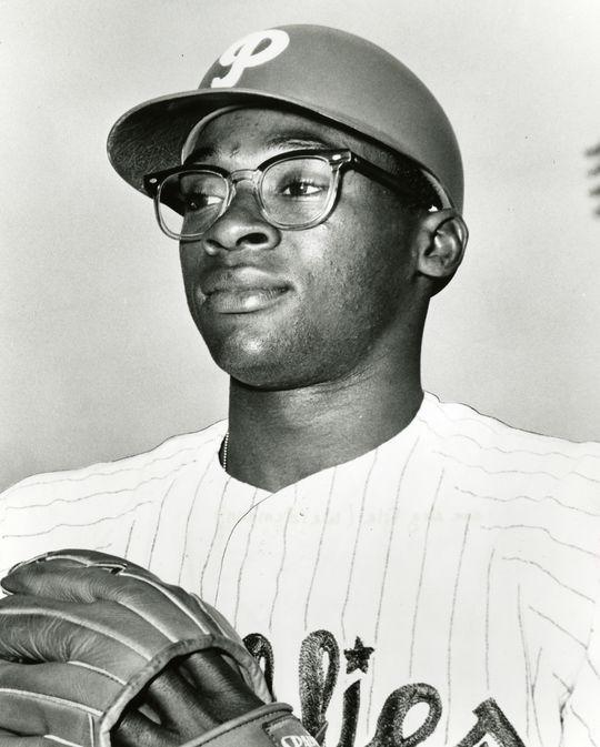 Dick Allen of the Philadelphia Phillies - BL-231-65 (National Baseball Hall of Fame Library)