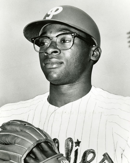 Dick Allen of the Philadelphia Phillies - BL-231-65 (National Baseball Hall of Fame Library)
