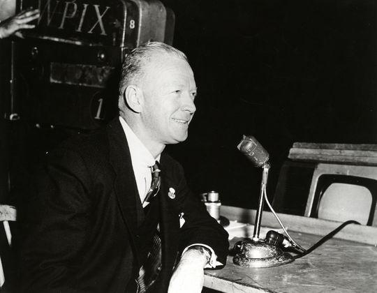 1978 Ford C. Frick Award Winner Red Barber - BL-5764-79 (National Baseball Hall of Fame Library)