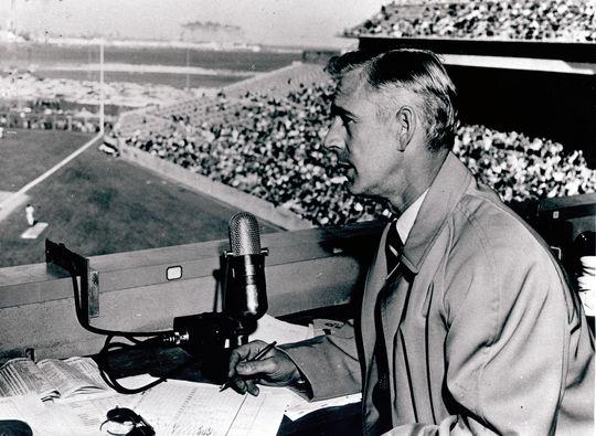 1987 Ford C. Frick Award Winner Jack Buck - BL-2519-71 (National Baseball Hall of Fame Library)
