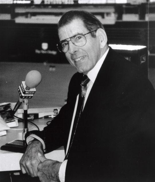 1996 Ford C. Frick Award Winner Herb Carneal - BL-6308-98 (National Baseball Hall of Fame Library)