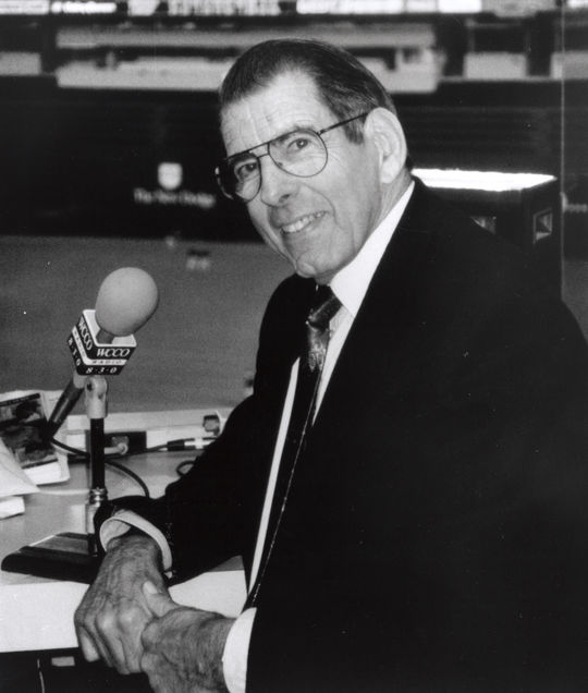 1996 Ford C. Frick Award Winner Herb Carneal - BL-6308-98 (National Baseball Hall of Fame Library)