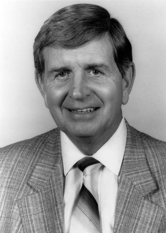 1992 Ford C. Frick Award Winner Milo Hamilton - BL-1469-92 (National Baseball Hall of Fame Library)