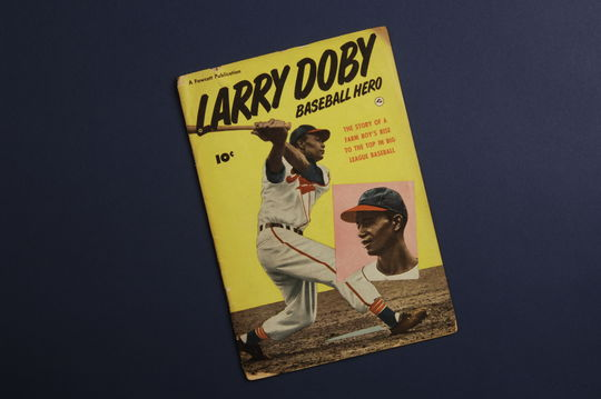 Larry Doby: Baseball Hero - Kurt Bloeser Comic Book Collection (Group 1) - BL-553.2006.27 (National Baseball Hall of Fame Library)