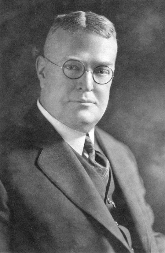 Ban Johnson - BL-73-62 (National Baseball Hall of Fame Library)