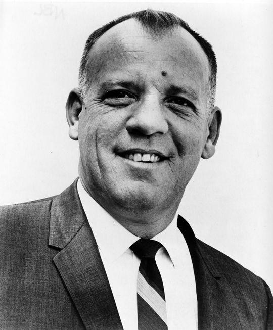 Joe Nuxhall - BL-7554-71 (National Baseball Hall of Fame Library)