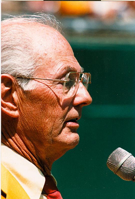 1986 Ford C. Frick Award Winner Bob Prince - BL-3119-86 (National Baseball Hall of Fame Library)