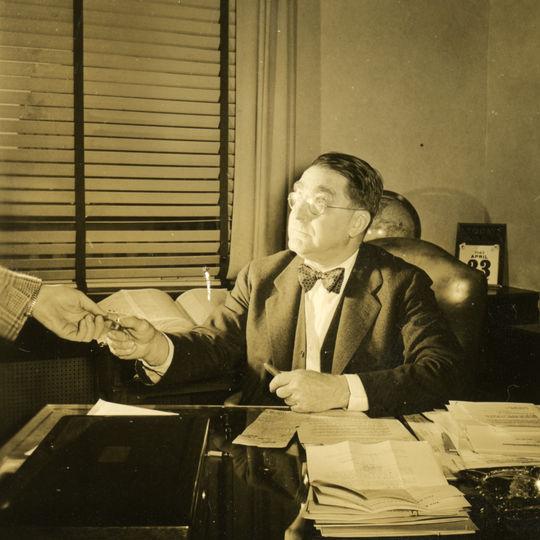 Baseball executive Branch Rickey, 1946 - BL-267-54-59 (Look Magazine/National Baseball Hall of Fame Library)