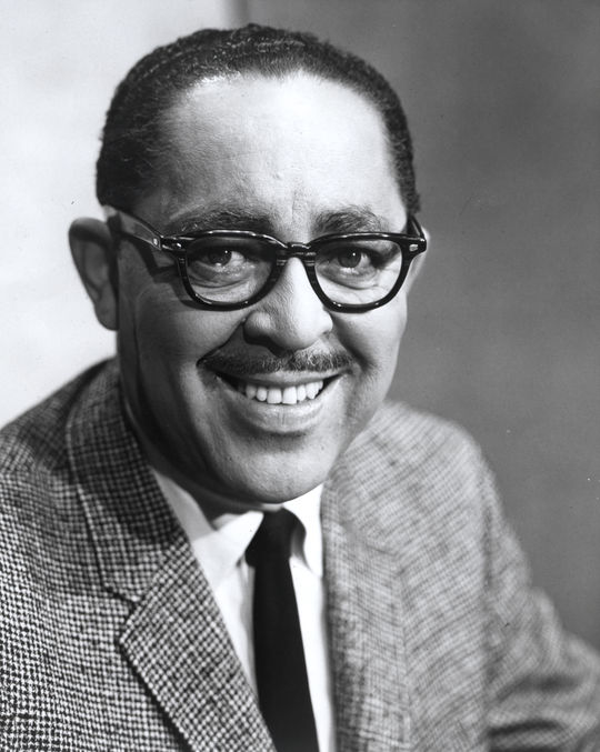 Wendell Smith, portrait for 1994 J.G. Taylor Spink Award  (National Baseball Hall of Fame Library)
